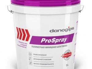 ProSpray (ПроСпрей) пастообразная штукатурка