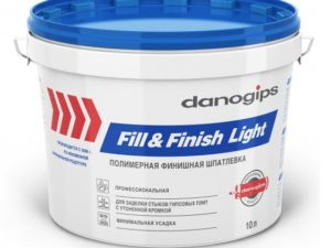 Шпаклёвка Fill&Finish Light (Фил Энд Финиш Лайт) 10 л
