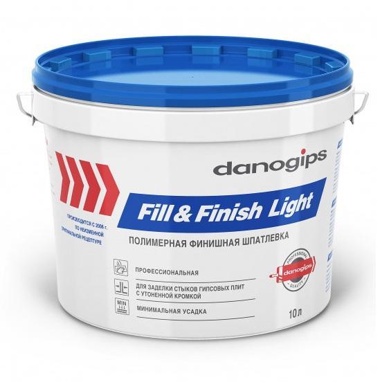 Шпаклёвка Fill&Finish Light (Фил Энд Финиш Лайт) 10 л