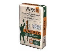 Клей для ГКЛ и керамической плитки, Alinex Unifix (25 кг)