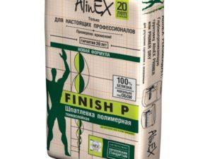 """Шпаклёвка """"FINISH P"""" Alinex 25 кг"""