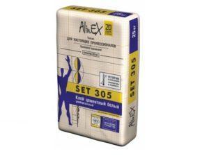 Клей цементный белый, Alinex Set 305