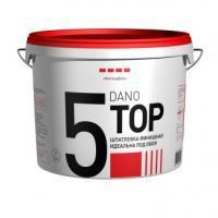 Готовая полимерная шпатлёвка DANO TOP 5 (Дано ТОП 5) 5кг