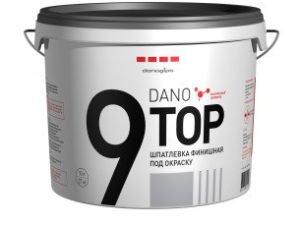 Финишная полимерная шпаклёвка DANO TOP 9 (Дано ТОП 9) 5кг