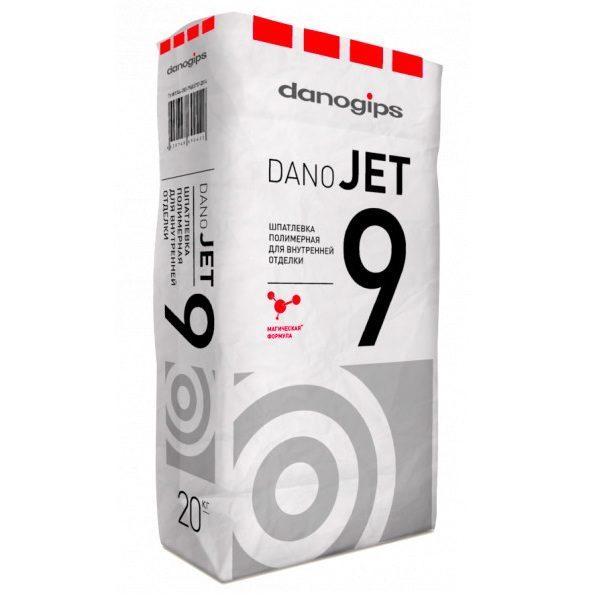 Шпатлёвка полимерная Danogips DANO JET 9