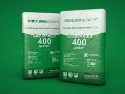 Цемент - 400 (мешок 50кг, Шымкентцемент)