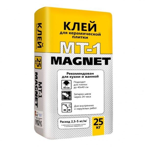 Клей плиточный Магнит 25 кг