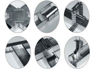 Профиля и крепежные материалы, комплектующие для ГКЛ,