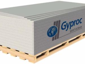"Гипсокартон Огнеуп. ""GYPROC"" 12.5*1200*2500, л"