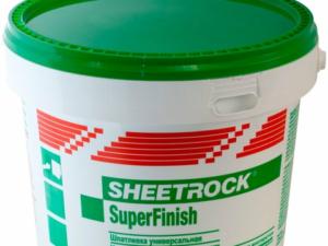 Шпатлевка SHEETROCK SuperFinish 5.6 kg, шт