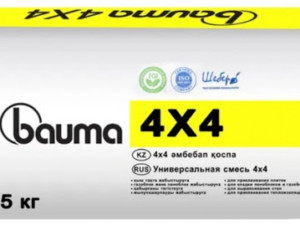 """Клей кафельный """"BAUMA 4*4""""(25кг), меш"""