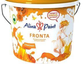 """Краска ВД Alina Paint """"FRONTA"""" (морозостойкая) 25 кг, вед"""