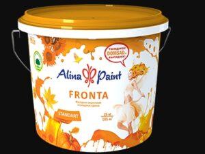 """Краска ВД Alina Paint """"FRONTA"""" (морозостойкая) 4,5 кг, вед"""