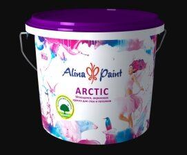 """Краска ВД Alina Paint """"ARCTIC"""" (морозостойкая, 7кг), вед"""