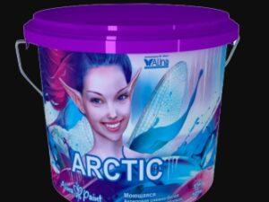 """Краска ВД Alina Paint """"ARCTIC"""" (морозостойкая, 3кг), вед"""