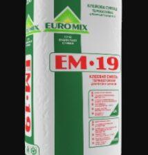 "Клей ""Euromix"" Тепло 25 кг , меш"