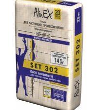 """Клей AlinEX """"Set 302"""" (25 кг), меш"""