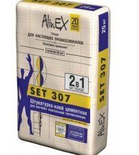 """Клей AlinEX """"Set 307"""" (25 кг), меш"""