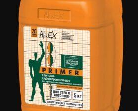 """Грунтовка  Alinex """"PRIMА"""" 5 кг, кан"""